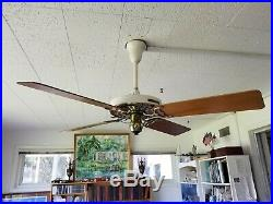 100 Year Old Hunter C17 Antique Electric 52 Ceiling Fan-restoration Hardware New