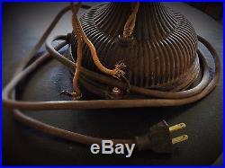 12 Antique Pancake Fan 1903 GE Desktop Works