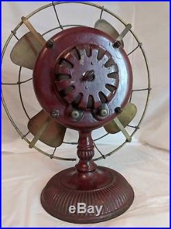 12 GE Pancake antique electric fan