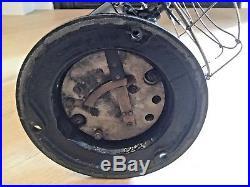 12 Jandus C-frame oscillating antique fan