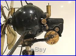 12 Tigre Hurricane D. C. 220 volt antique electric fan of