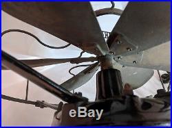 12 Westinghouse 6 Blade Tank Antique electric fan