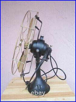 16 Blade Electric Desk Fan Oscillating Orbit Work 3 Speed Vintage Antique style