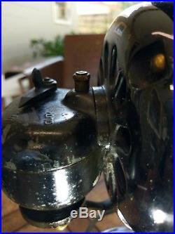 16 GE loophandle kidney oscillator antique fan