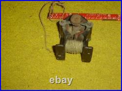 1800'S ELECTRIC MOTOR TOY / FAN EDISON STYLE BIPOLAR NO NAME no reserve