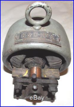 1890's Porter K&D No. 9 BIPOLAR Open Electric MOTOR