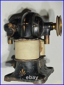 1890's Western Electric Bipolar Utility Motor Early Electric Antique Electrical