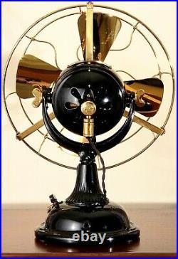 1904 GE Ballmotor Fan not Pancake Roundball