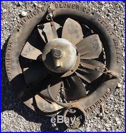 1911 American Blower Co. Detroit, Mi Electric Ventilating VENTURA Fan Antique