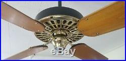 1915 Antique Vintage Hunter Tuerk Ceiling Fan-rebuilt W Remote Control & Video