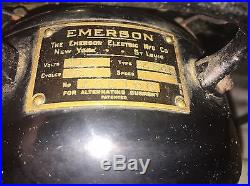 1917 Antique Emerson Fan Rare Type 24646