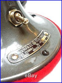 1930's Antique GE General Electric Vortalex Vintage Deco Fan FM9V1 NO RESERVE