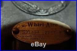 1935 Antique ART DECO Westinghouse Whirl-Aire Floor Fan (Delivery Possible)