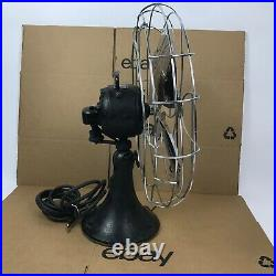 1938 Emerson 16 Fan 3 Speed Oscillating 79648 Vintage Antique No Plug 8. C3