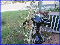 4antique 16 Ge Sidewinder Fan Vintage Ge Fan Brass Blade Fan C Westinghouse Fan