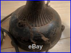 ANTIQUE 8 BLADE GENERAL ELECTRIC FAN JUNE 25 1901 Patent ALTERNATING CAST IRON