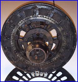 ANTIQUE CEILING FAN VINTAGE HUNTER WESTERN ELECTRIC CAST IRON 1920s 1930s