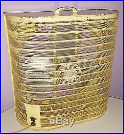 ANTIQUE FARM SHOP WINDOW FAN VINTAGE 1940s-1950s INDUSTRIAL ELECTRIC 20 BLADE