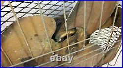 ANTIQUE LAU FARM SHOP BOX FAN RUSTIC VINTAGE 1940s INDUSTRIAL ELECTRIC 20 BLADE