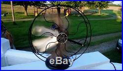 Antique Restored 12 Ge Fan