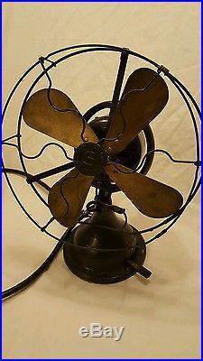 Antique Vintage Fan Rare Sprague Electric Fan Nr