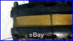 ANTIQUE VINTAGE G. E. BRASS BLADE FAN General Electric 1901