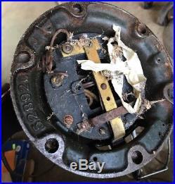 ANTIQUE VTG GENERAL ELECTRIC BRASS BLADE CAGED FAN GE 75423 AOU Oscillator 12