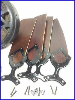 ANTIQUE WESTINGHOUSE CEILING FAN 1927-1930 Motor Runs