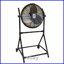Air King 9219 18 1/6 HP Industrial Grade High Velocity Pivoting Floor Fan