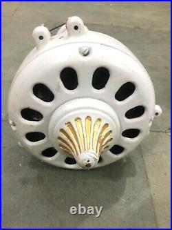 Antiqu GEC Ceiling Fan Made in Italy Volt 220 AC