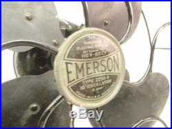 Antique 10 Emerson Model 2250b Oscillator Electric Table