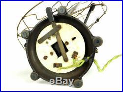 Antique 12 Colonial Tab Base Desk Fan