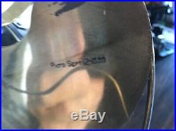 Antique 12 Emerson #14646 Rib-Base Fan BRASS BLADES & BRASS CAGE