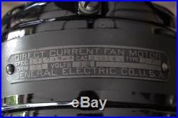 Antique 12 General Electric Dc Fan Custom Restoration