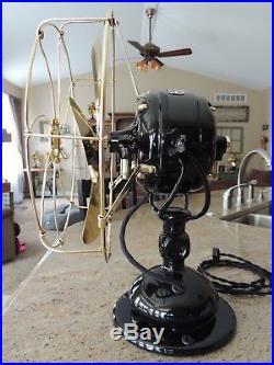 Antique 12 Restored Jandus Wire Mount Fan
