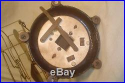 Antique 12 in. PEERLESS Electric FAN BRASS Blades & Cage