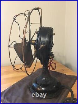 Antique 1900's General Electric Pancake Motor Desk Fan Open To Offers
