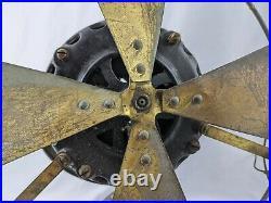 Antique 1901 General Electric Pancake Motor Desk Fan AS-IS Open To Offers
