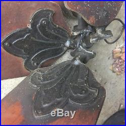 Antique 1913 Westinghouse Ornate Ceiling Fan As Found