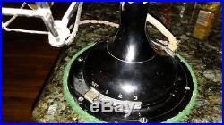 Antique 1920 Robbins & Meyers R&M Brass Blade Fan #2410 Works Great Springfield