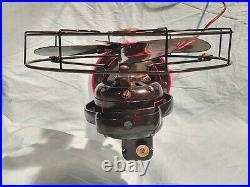 Antique 1920s GRAYBAR 12 4 Blade Fan, Model AOU Form AL-1, Restored