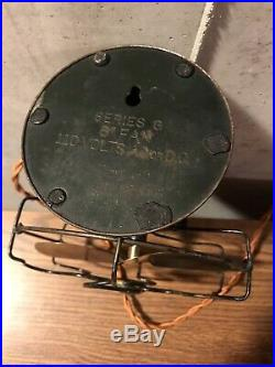 Antique 1920s General Electric GE 6 Series G Fan WORKS GREAT