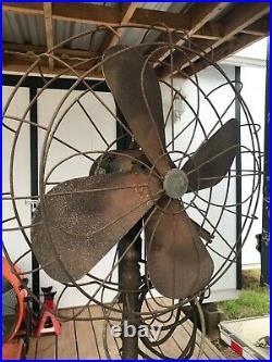 Antique 1930s Emerson Electric Art Deco Fan