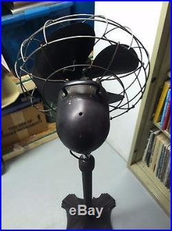Antique 1940'S Emerson Electric 12 Pedestal Fan 77646AM