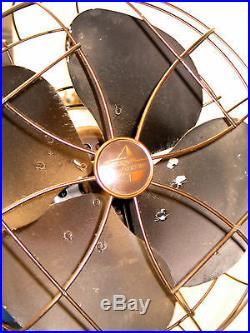 Antique 1940'S Emerson Electric 12 Pedestal Fan 77646AW