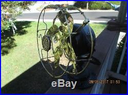 Antique 8 Emerson Fan 1500 Fan Vintage Fan Brass Blade Fan Rare Electric Fan
