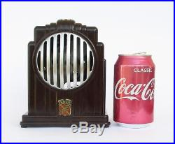 Antique Art Deco French Edla Junior Bakelite Small Electric Fan