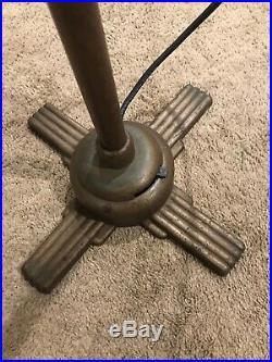 Antique Art Deco General Electric GE Oscillating Pedestal Fan Model U 107010