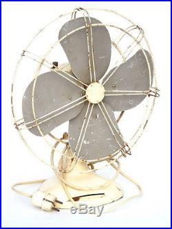 Antique Beanwy Electric Ltd British Made Tyseley Birmingham B & Y Art Deco Fan