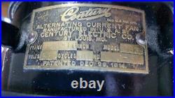 Antique CENTURY ELECTRIC AC FAN, Brass Blades, Frame SC3-16, Model 263, J-5